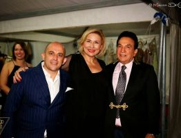 Rosa Praticò e Domenico Auriemma modarte serata